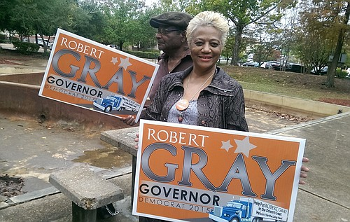 Judie Gray Livingston, mother of Democratic governor hopeful Robert Gay.