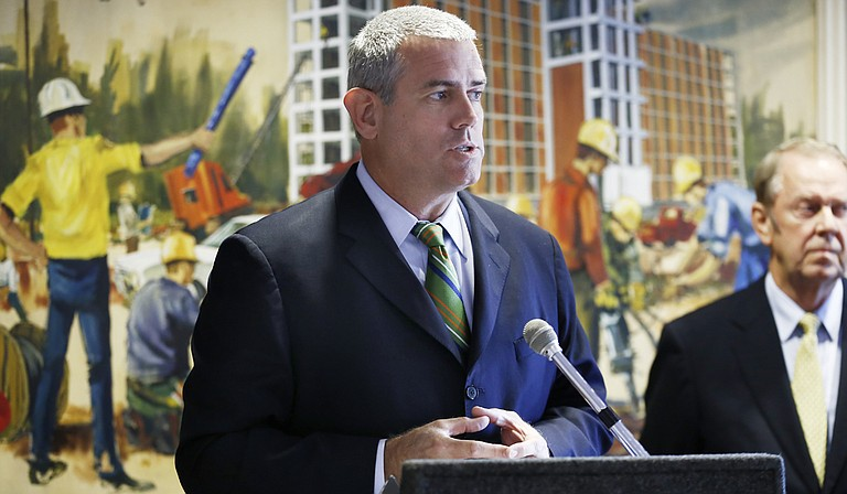 Mississippi House Speaker Philip Gunn, R-Clinton, spoke against Initiative 42 at a press conference in Hattiesburg on Oct. 22.