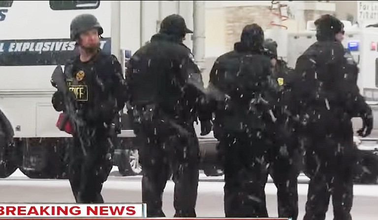 The Jackson Police Department plans to receive active-shooter training in the wake of recent shootings in San Bernadino, Calif., and at a Colorado Springs Planned Parenthood (pictured). Afterward, JPD could conduct drills for other City of Jackson departments, including city hall. Photo courtesy Youtube 7 News/The Denver Channel