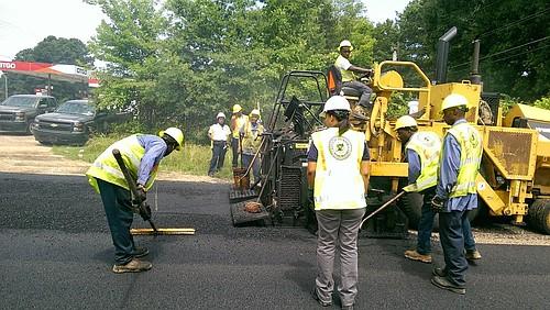 City of Jackson public-works crew.