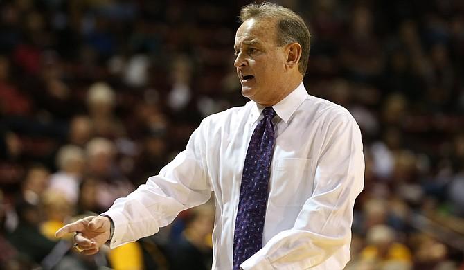 Mississippi State University Coach Vic Schaefer Photo courtesy MSU Athletics