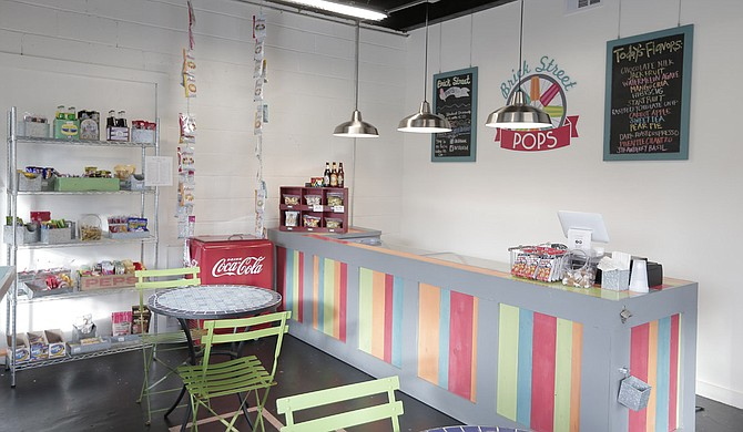 Brick Street Pops, which opened in Clinton in August 2015, has popsicle flavors such as pineapple mango and many different sodas.