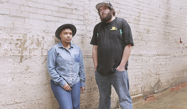 Donyale Walls (left) and Garrad Lee (right) helped organize Jackson Indie Music Week.