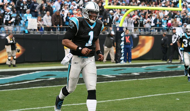 Carolina Panthers quarterback Cam Newton's play will be one of the deciding factors on whether or not the Panthers beat the Denver Broncos in Super Bowl 50 on Sunday, Feb. 7. Photo courtesy Flickr/Parker Anderson