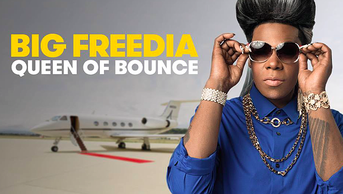 A Hattiesburg club owner cancelled the show of Big Freedia, a New Orleans bounce artist, because a state official told him it would contain illegal gyrating. She plans to bring legal action for the censorship.