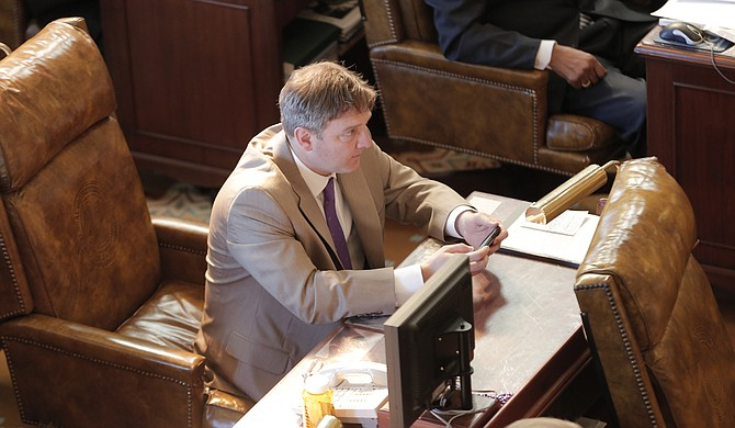 Sen. Joey Fillingane, R-Sumrall, authored a bill that would prevent Medicaid reimbursements for Planned Parenthood services on Wednesday.