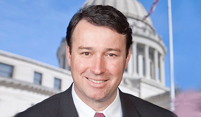 "Sen. Sean Tindell, R-Gulfport, authored a bill that would prohibit the establishment of ""sanctuary cities"" to harbor illegal immigrants in Mississippi. Photo courtesy Mississippi Legislature"