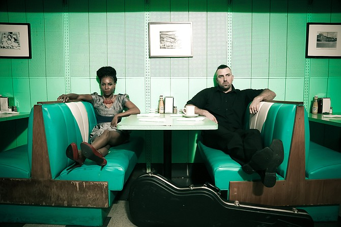"""(Left to right) Teneia Sanders-Eichelberger and Ben Eichelberger of Jackson-based folk-soul band Teneia released their newest album, """"No Fakes,"""" in November 2015. Photo courtesy Chuckway Washington / FulloFlava Photography"""