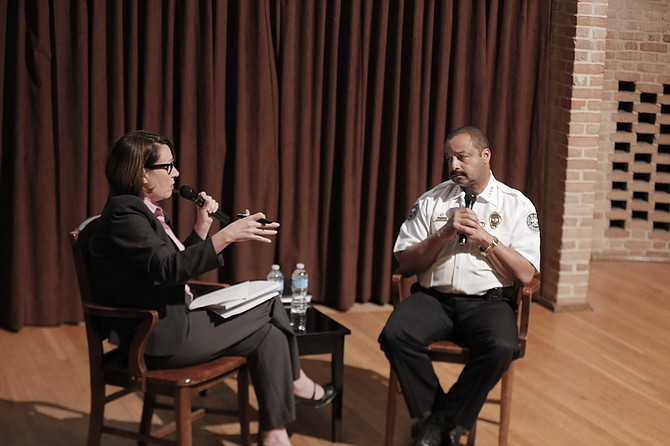 In the first of the JFP One-On-One series, JFP Editor Donna Ladd and Chief Lee Vance discussed many issues surrounding crime in Jackson during a one-on-one interview Monday night at Millsaps College.