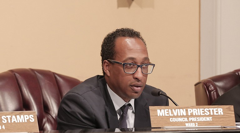 """Council President Melvin Priester Jr. could not confirm that the City is ready to settle the class-action suit against it for """"pay or stay"""" policy in Municipal Court."""