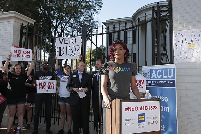 Blossom Brown, 29, faced trans discrimination when applying to nursing school.