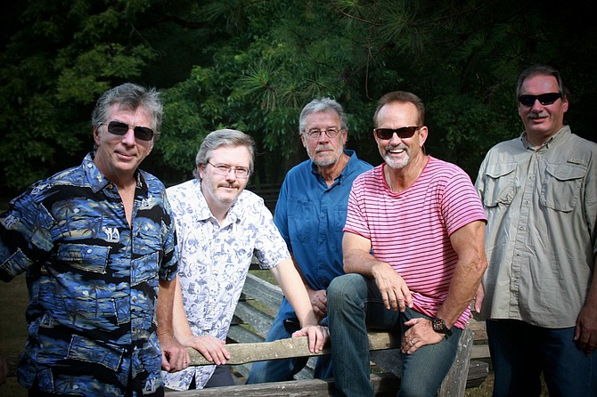 (Left to right) Bud Burthold, John Mason, Ron Smith, Rick Porter and Richard Smith of Jackson-based cover band Shadz of Grey perform Friday, June 24, at Pelican Cove Grill in Ridgeland. Photo courtesy Shadz of Grey