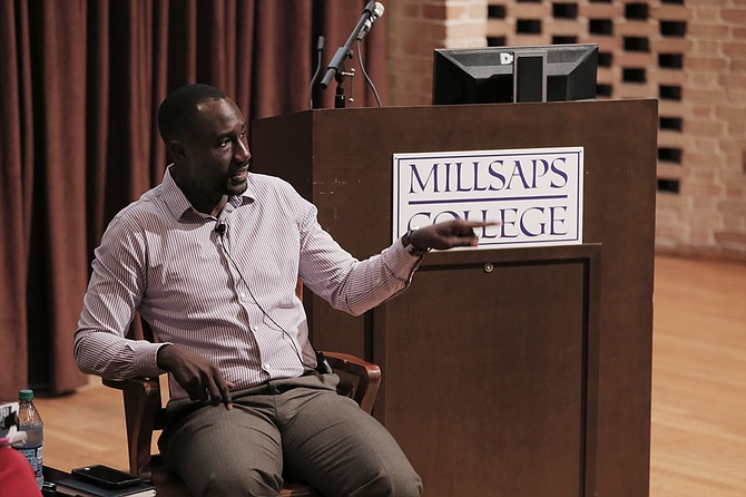 "Mayor Tony Yarber told stories of all the young men he had seen shot, and lost, when he was growing up in Subdivision 2 in west Jackson at Millsaps College on June 20. In the ""One-on-One"" talk with JFP Editor Donna Ladd, Yarber urged the audience to get past blaming the family and to helping interrupt the cycle of violence for the young men most at risk of committing it."