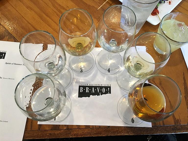 On June 18, BRAVO! Italian Restaurant & Bar hosted a summer spirit tasting.