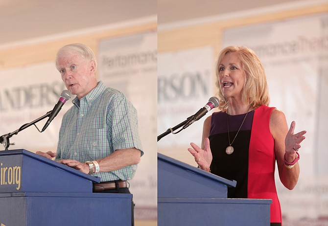 At the Neshoba County Fair, State Treasurer Lynn Fitch called on the Mississippi Legislature to pass a constitutional amendment to require the state to balance its budget. Transportation Commissioner Dick Hall said the state needs funding to repair the state's roads and bridges.