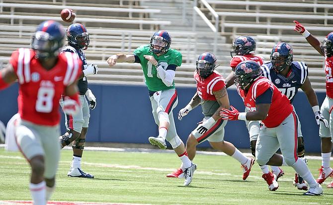 Chad Kelly Photo courtesy Joshua McCoy/University of Mississippi Athletics