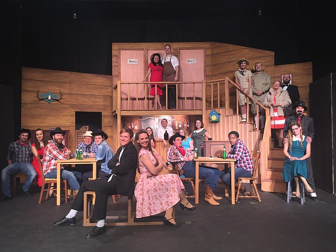 "Black Rose Theatre will perform ""Crazy for You"" Sept. 15-18 and 22-25. Photo courtesy Black Rose Theatre"