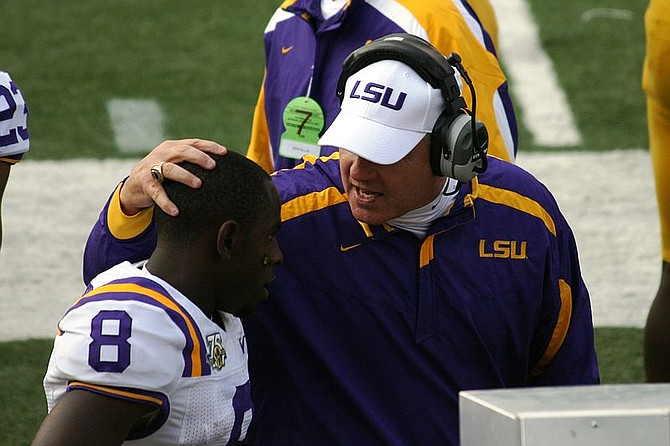 After a devastating loss to Auburn, Les Miles has been fired by LSU and replaced by former Ole Miss head coach Ed Orgeron.