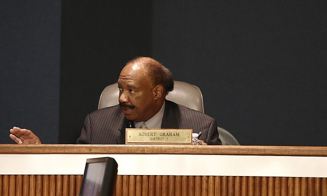 Hinds County District 1 Supervisor Robert Graham said the county cut the Youth Court's budget to address requirements from a federal court order.