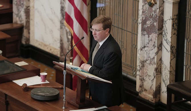 Lt. Gov. Tate Reeves reiterated his goals to continue to make Mississippi the most desirable state for capital investment by making changes to the state's tax code at the legislative tax panel Oct. 3.