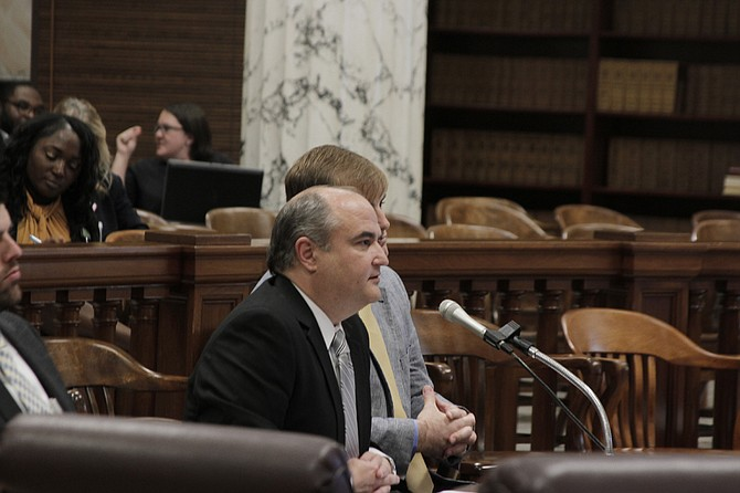 John Davis, executive director of the Department of Human Services, told lawmakers that his department spends $75 million on contracts annually.