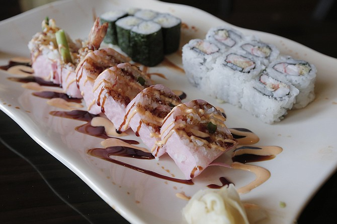 The Diamond Roll is one of the restaurant's signature dishes.