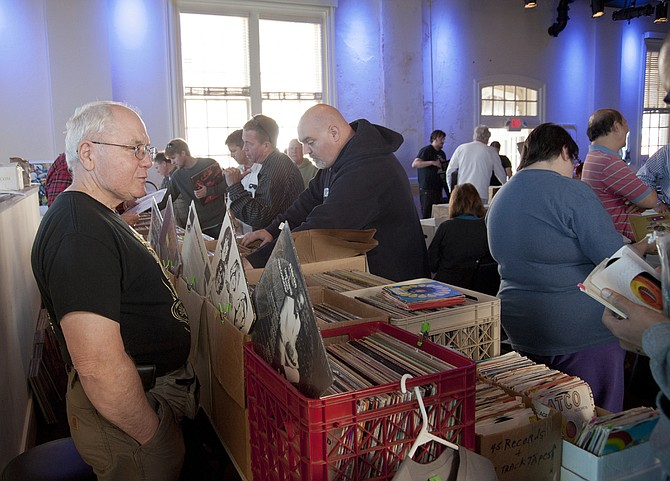 The second annual Central Mississippi Record Convention takes place Saturday, Dec. 3, at Duling Hall. Vinyl gems are guaranteed. Photo courtesy Jay Ferchaud