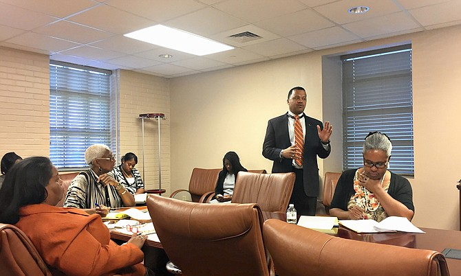 Jacksons Deputy CAO Marshand Crisler Told The Jackson Redevelopment Authority Board Of Commissioners That City