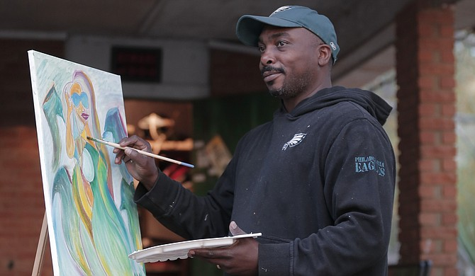 Artist Myron McGowan's work will be on display at the 14th Annual NuRenaissance Art Showing and Gala on Saturday, Dec. 10, at Freelon's Da Groove.
