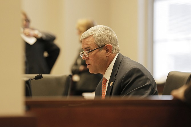 House Speaker Philip Gunn and Lt. Gov. Tate Reeves said the fiscal-year 2018 budget plan reflects the state's ability to spend within its means; the plan spends 3 percent less money than the state spent in fiscal-year 2017.