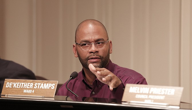 The Jackson Public Schools district must take better control of student education before the prison industry gets to control the young people, City of Jackson Ward 4 Councilman De'Keither Stamps says.