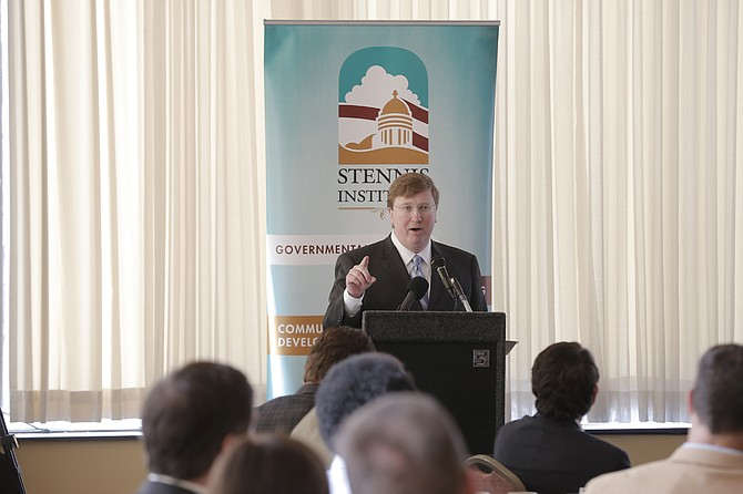 At the Stennis Capitol Press Forum, Lt. Gov. Tate Reeves said he expects EdBuild's recommendation to go to lawmakers by the Jan. 16 deadline for legislation.