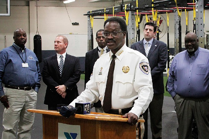 Hinds County Sheriff Victor Mason voiced his department's support of the at-risk diversion program announced this morning that will cover 14 counties, including Hinds, Madison and Rankin.
