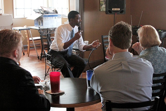 Jackson City Council President And Ward 6 Councilman Tyrone Hendrix  Discussed The Option Of Leveraging 1