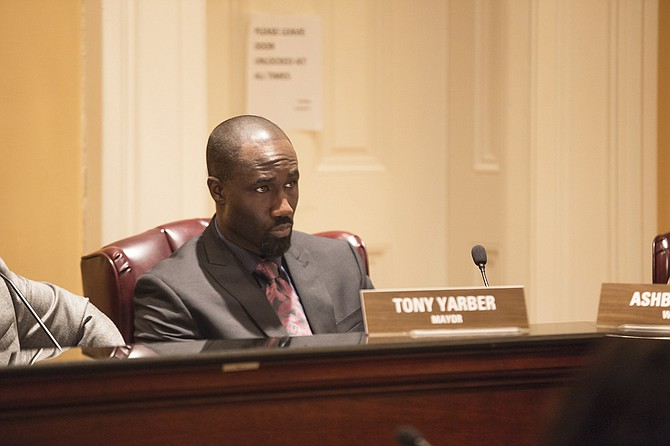 "Mayor Tony Yarber (pictured) called campaign supporter Mitzi Bickers a ""kingmaker"" during a recent interview. This week Georgia media reports connect Bickers to an individual accused of attempting to intimidate a contractor who admitted to bribing officials in Atlanta's City Hall."