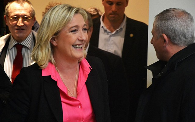 "Marine Le Pen, of the historically racist and anti-Semitic National Front party in France, sees a ""moral boost"" for anti-immigrant and protectionist policies in the success of Donald Trump and Brexit."