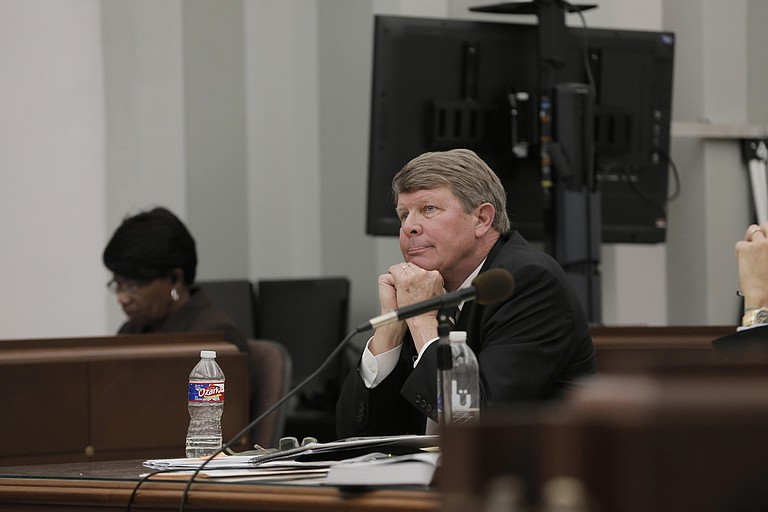"The trial of Downtown Jackson Partners President Ben Allen (pictured) drew to a close without the prosecution's ""whistleblower,"" his former assistant Linda Brune, ever entering the courtroom."