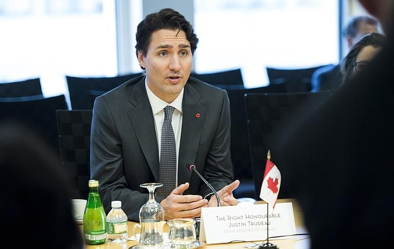 Canadian Prime Minister Justin Trudeau Photo courtesy Flickr World Bank/Franz Mahr