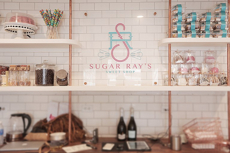 Sugar Ray's offers truffles, jelly beans, candied apples, gourmet chocolates, old-fashioned sodas and items such as Southern Sweet Tea Pops, which are lollipops made with sweet tea in flavors such as lemon ginger, apple cinnamon and salted caramel.