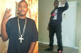 Brothers Marquis (left) and Dominique (right) Garrett died after an armed home invasion. Photo courtesy Facebook