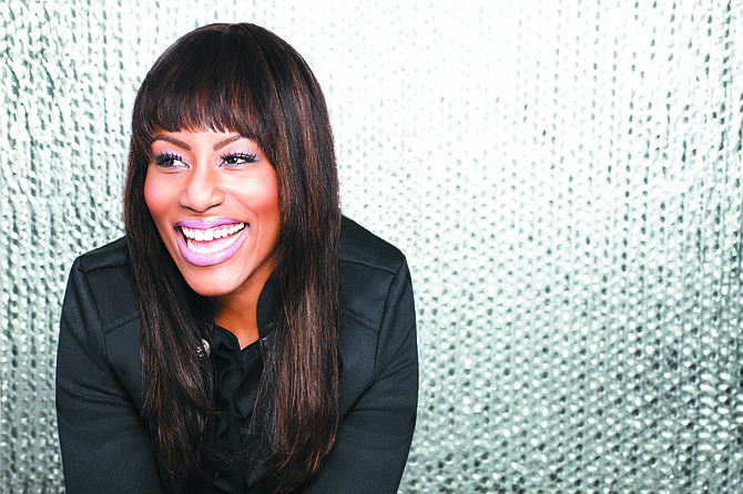 Grammy Award-winning singer Mandisa performs as part of the TobyMac Hits Deep Tour, which comes to the Mississippi Coliseum on Sunday, Feb. 26. Phto courtesy CMA Media Promotions