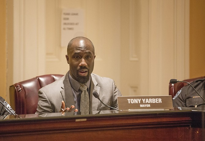 Mayor Tony Yarber wants to borrow $90 million for infrastructure repair against future 1-percent sales-tax revenues.