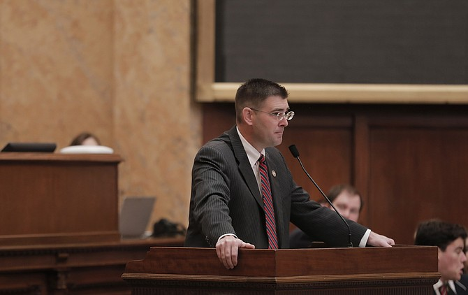 Rep. Andy Gipson, R-Braxton, passed the mental health court legislation out of his Judiciary B Committee and the House Appropriations passed the bill onto the calendar today.