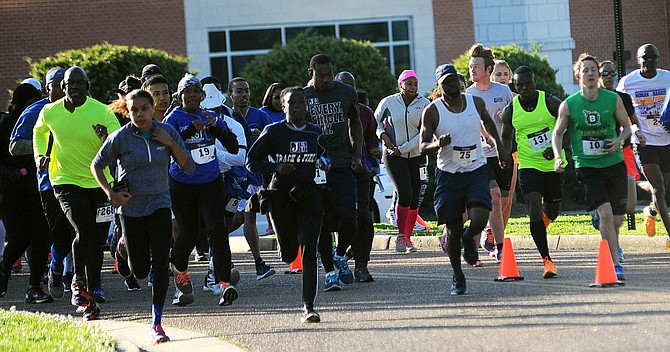 The 11th annual Sweetness Fest takes place April 1 at Jackson State University and includes a 5K run and walk, a fun run and other activities. Photo courtesy Sweetness Fest