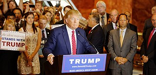 "Trump said in an address to Congress last month that he wants to ""expand choice, increase access, lower costs and at the same time provide better health care,"" a less expansive coverage goal that has been embraced by House Speaker Paul Ryan, R-Wis., and other authors of the GOP legislation. Photo courtesy Michael Vadon"