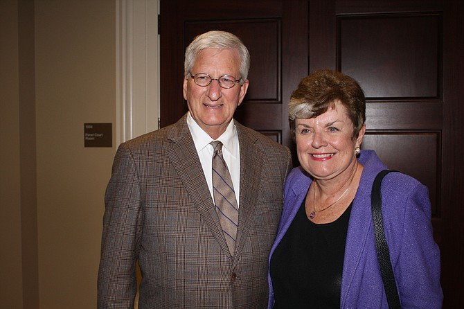 David Chandler (left) and Maura Corrigan (right) both were former justices on their state supreme courts and then left to work on their states' child-welfare systems. Justice Corrigan will work in Mississippi for a year to help reduce the number of children in state custody, on a grant through the Casey Foundation. Photo courtesy Administrative Office of the Courts