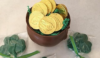 Local businesses such as Nandy's Candy have what you need for this year's St. Paddy's celebration. Photo courtesy Nandy's Candy