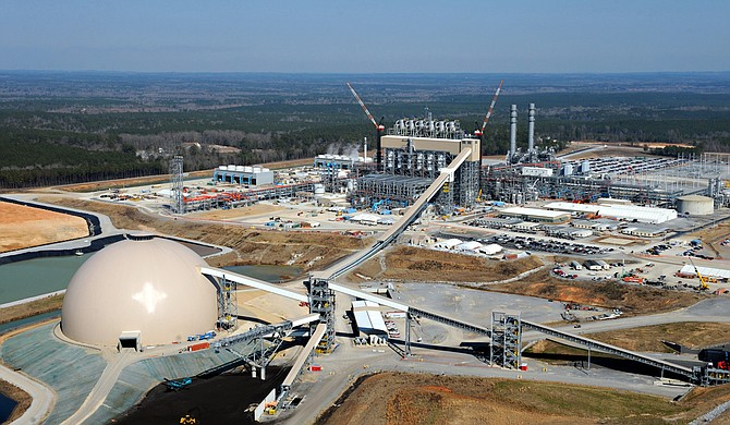 After a tubing leak in part of its Kemper County power plant, Mississippi Power Co. now says it's unsure when the $7 billion plant will be finished. Photo courtesy Mississippi Power