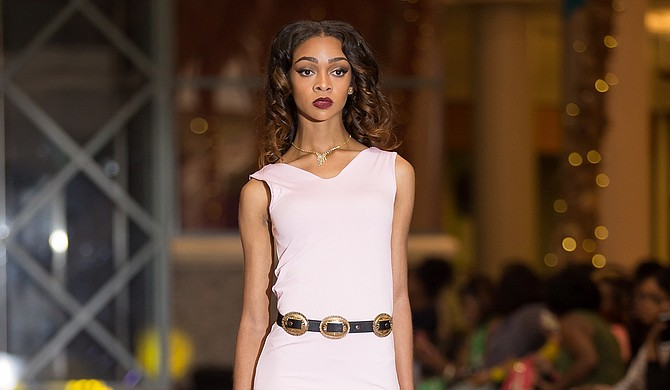 Danielle Hill, Allison McDaniel and Lauren Porter (pictured) modeled in the 2016 Mississippi Fashion Week. The 2017 version is April 6-9. Photo courtesy Marcus Smith Photography