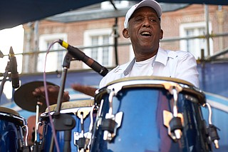 New Orleans fusion act Bill Summers & Jazalsa perform for the Township Jazz Festival on Saturday, April 8, in the Township at Colony Park in Ridgeland. Photo courtesy Flickr/Derek Bridges